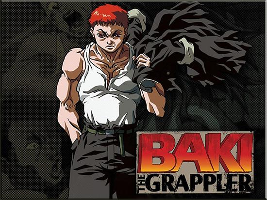 Resultado de imagen de baki the grappler 2001