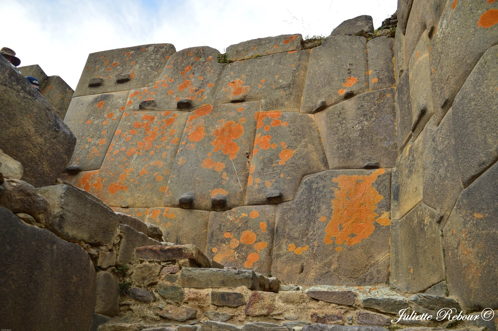 Pierres Incas à Ollantaytambo, Pérou
