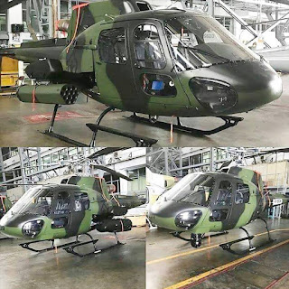 Helikopter AS550C3 Fennec TNI AD