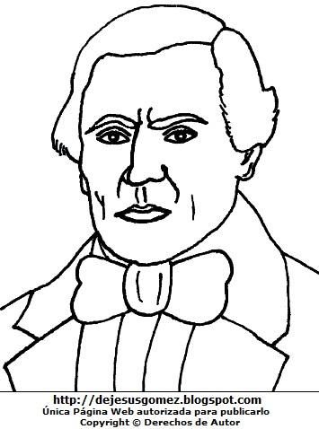 Imagen de José de la Torre Ugarte para colorear, pintar o imprimir. Dibujo de José de la Torre Ugarte hecho por Jesus Gómez