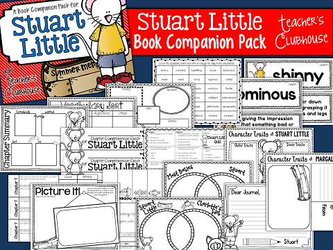 http://www.teacherspayteachers.com/Product/Stuart-Little-Book-Companion-Pack-1287314
