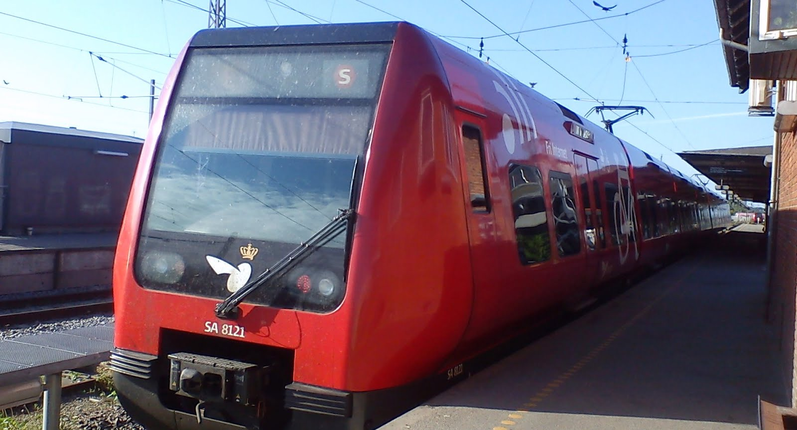 KFB: S-tog - Linje A og Linje E kører efter en justeret køreplan mellem Friheden og Køge
