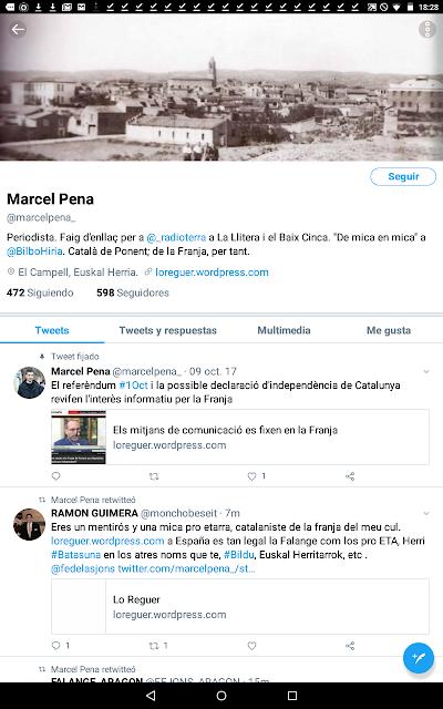 Marcel Pena, litera, llitera, Euskal Herria, pro etarra