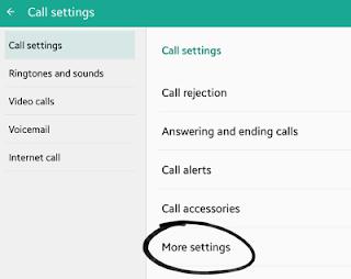 mengatasi panggilan keluar bermasalah pada android