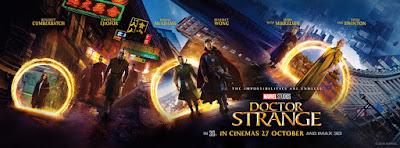 Marvel's Doctor Strange International Theatrical Movie Banner
