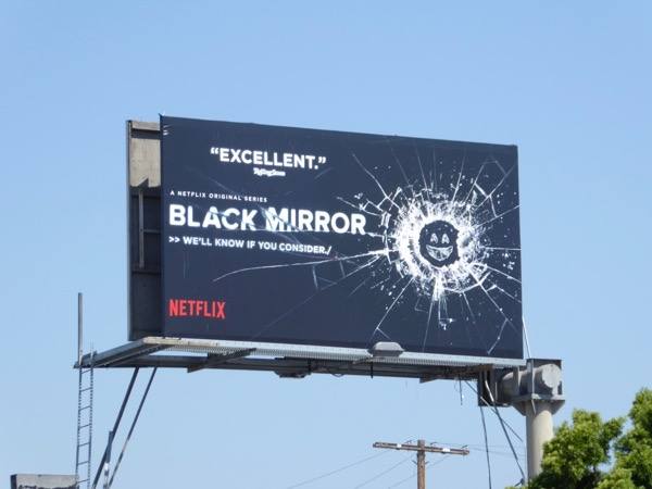 Black Mirror season 3 Emmy billboard