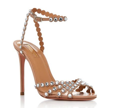 Shopping, Style and Us: India's Best Shopping and Self-help Blog- AQUAZZURA EMBELLISHED LEATHER SANDALS