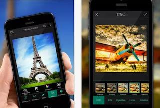 migliorare foto app