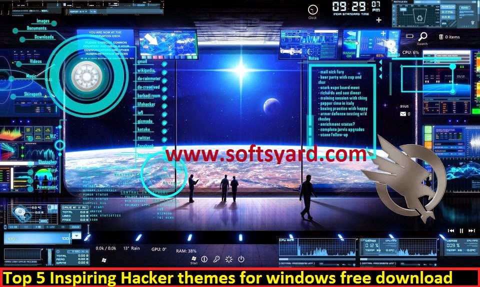 Top Hacker Themes for Windows 7 and windows 8
