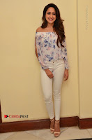 Actress Pragya Jaiswal Latest Pos in White Denim Jeans at Nakshatram Movie Teaser Launch  0031.JPG