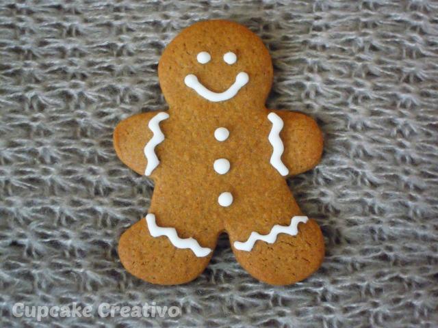 Galletas De Jengibre Navidad Cupcake Creativo