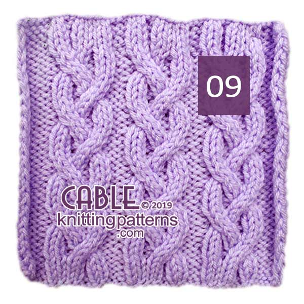 Cable Knitting Pattern 09