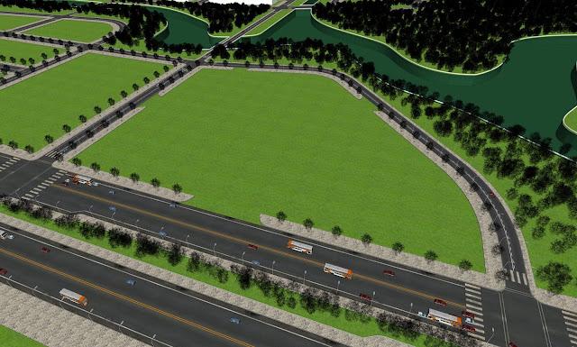 Mô hình khu đất thiết kế bệnh viện