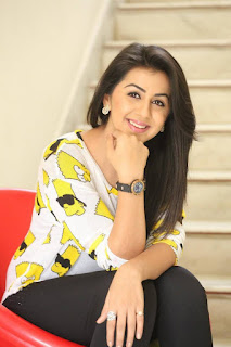 Nikki Galrani Latest Pictures in Tights at Malupu Interview ~ Celebs Next