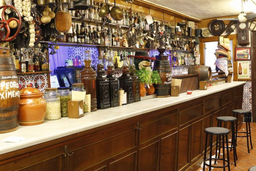 Bar la barra de Jaén