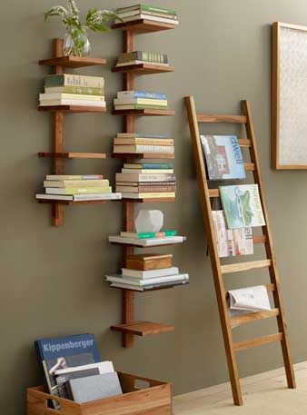 rak buku gantung dinding terbaru