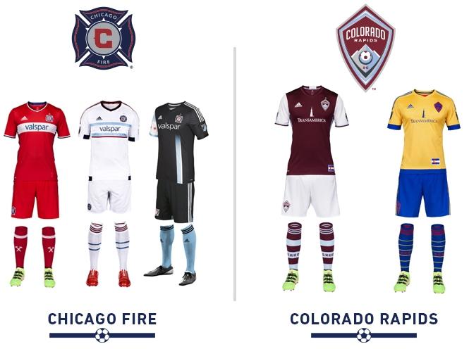 690ffb56d2 Conheça todas as camisas das equipes da Major League Soccer 2016 ...