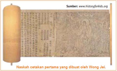 Sejarah Penemuan Alat Cetak