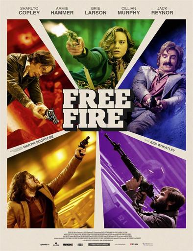 Ver Fuego cruzado (Free Fire) (2016) Online
