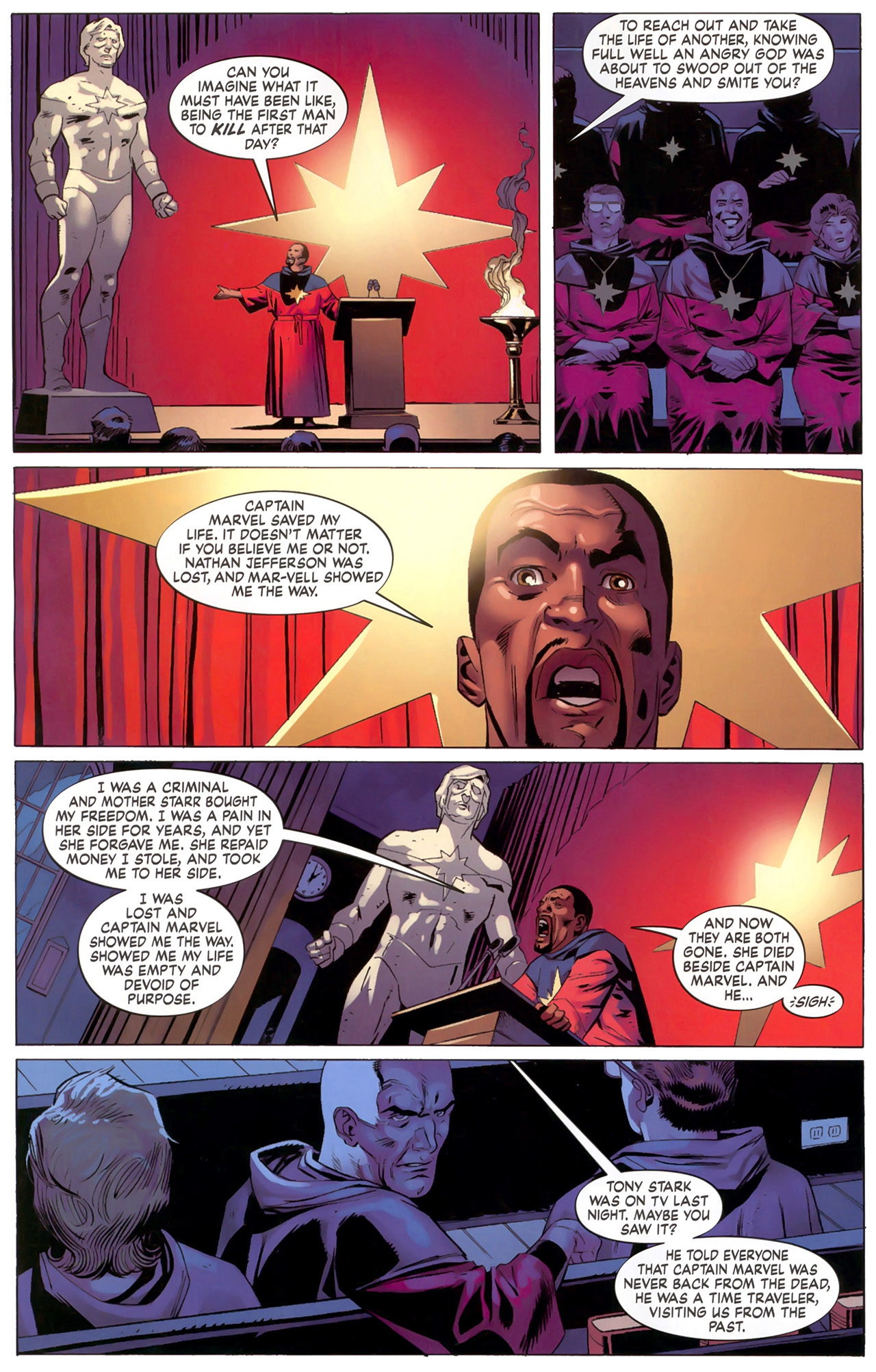 Read online Secret Invasion: The Infiltration comic -  Issue #6 - 19