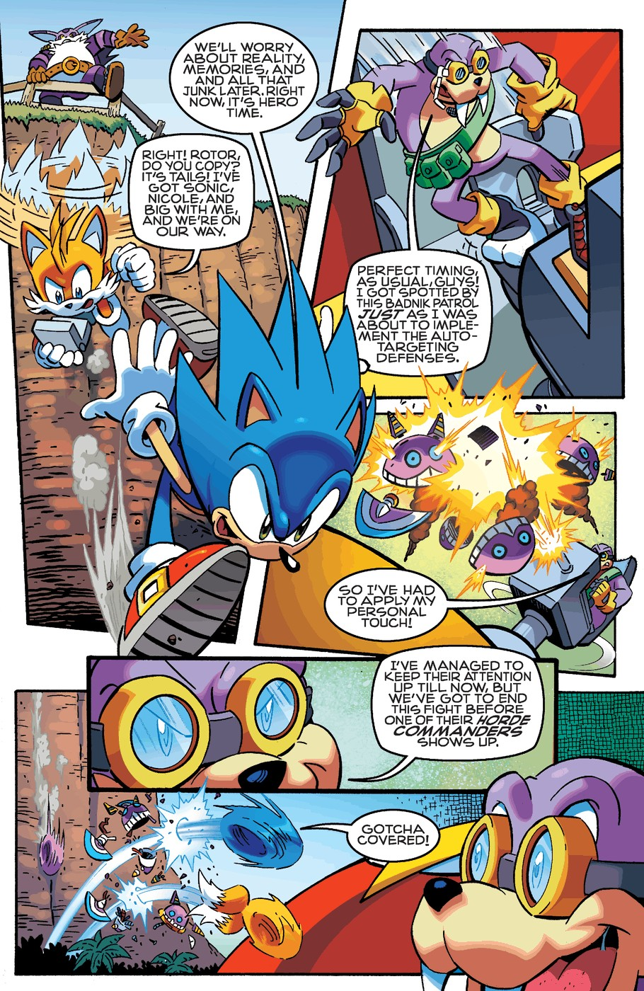 Read online Sonic The Hedgehog comic -  Issue #253 - 13