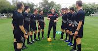 Εκπαιδευτικό πρόγραμμα για με τους επιπρόσθετους διαιτητές παρακολούθησαν οι διεθνείς διαιτητές