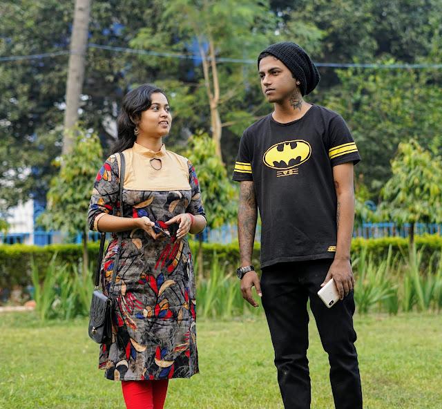 Sourajit Saha & Rituparna Saha At Central Park 4