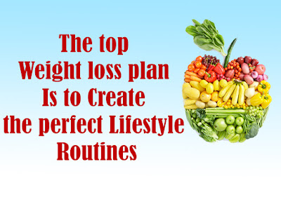 The top Weight loss plan Is to Create the perfect Lifestyle Routines