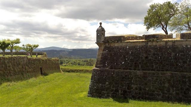 Valencia Do Minho, bastión de la muralla