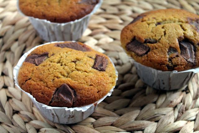 Muffins de vainilla estilo Starbucks