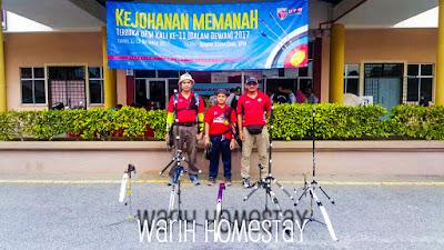Warih-Homestay-Jebat-Archery-Team-Melaka-Sebelum-Pertandingan