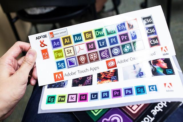 Adobe 台灣 CS6 部落客聚會 - 拿獎品
