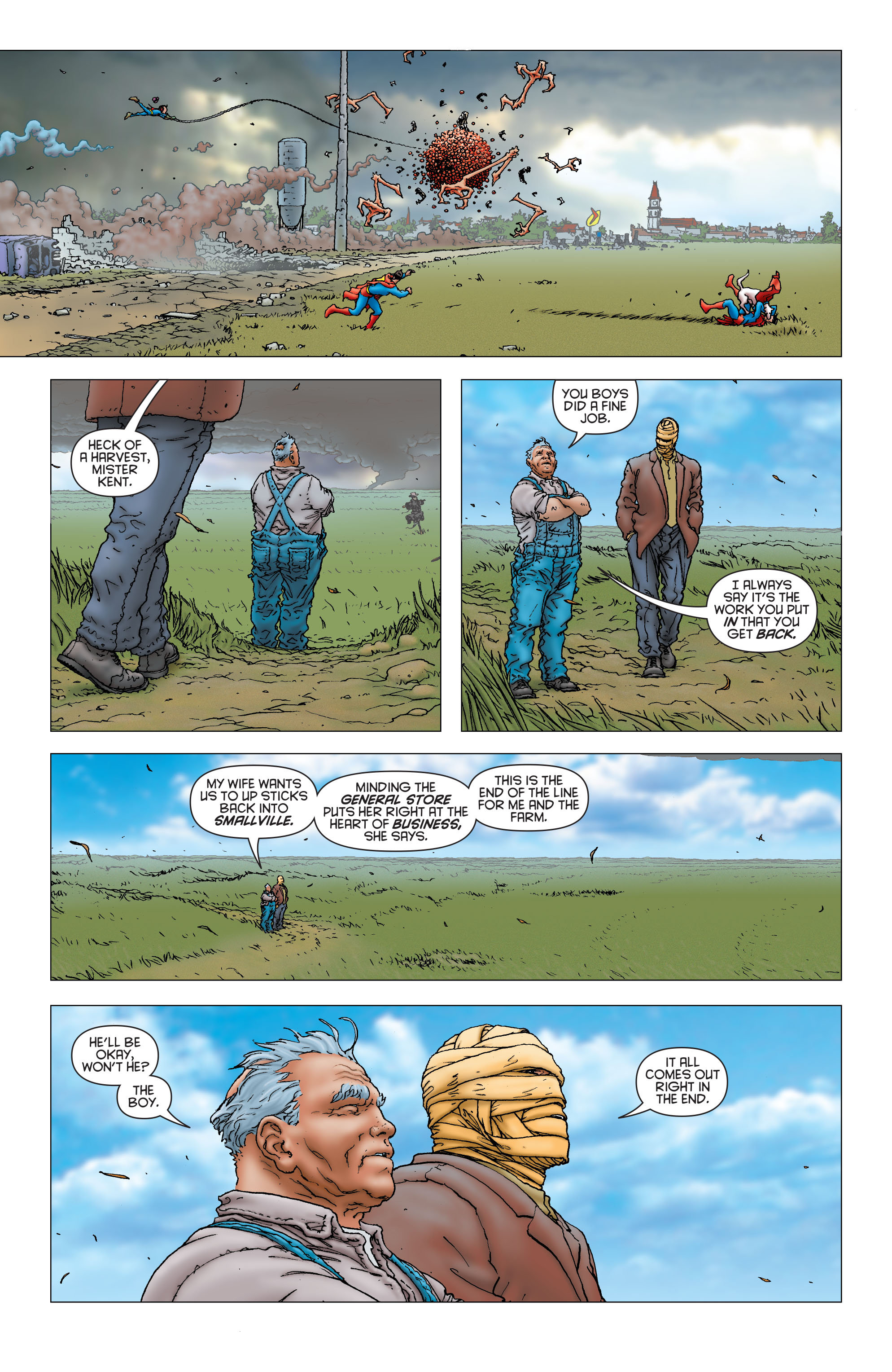Read online All Star Superman comic -  Issue #6 - 16