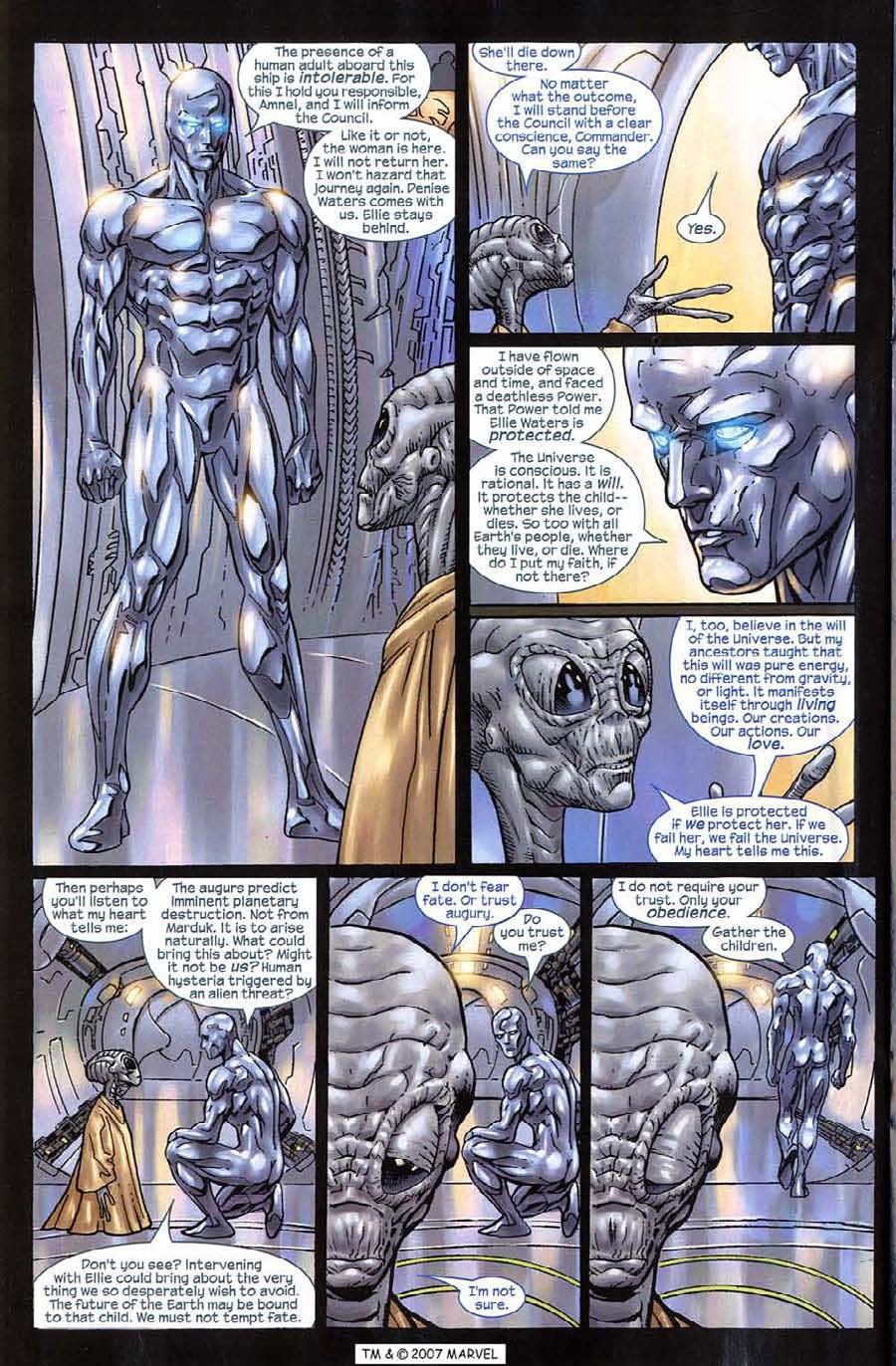 Read online Silver Surfer (2003) comic -  Issue #10 - 24