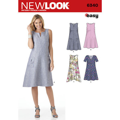 58da00404d72e1 After a romp through the collection, I found two pieces of fabric that  fulfilled my requirements for the dress. I wanted something printed, ...