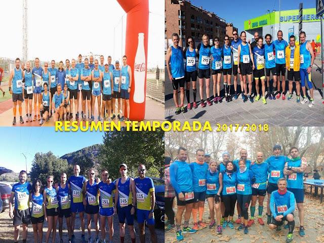 RESUMEN TEMPORADA 2017/2018