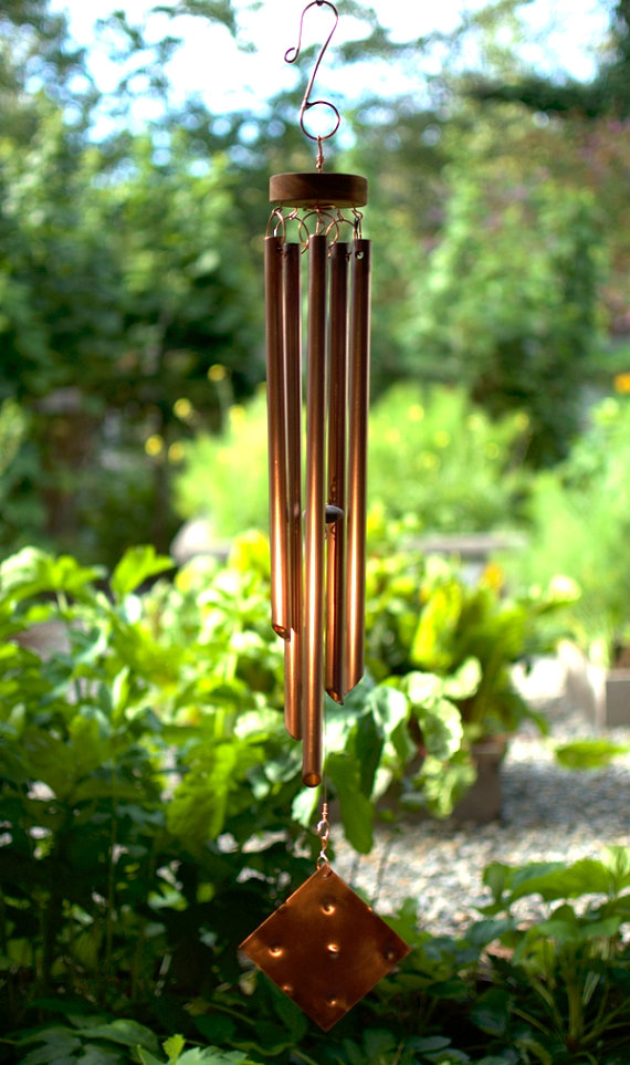 Handcrafted high quality copper wind chimes by Coast Chimes