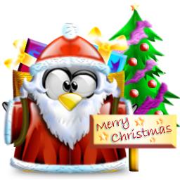 Tux - Buon Natale