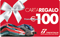 Logo  ''Torna in città con gusto'' e vinci 126 Carte Regalo Trenitalia da 100€