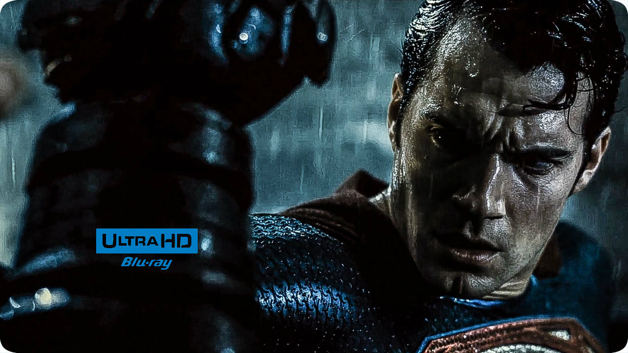Batman v Superman: Dawn of Justice 4K (2016) Blu-ray