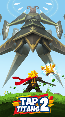 Download Game Mod terbaru Tap Titans 2 Apk + Mod (Infinite Money) Offline