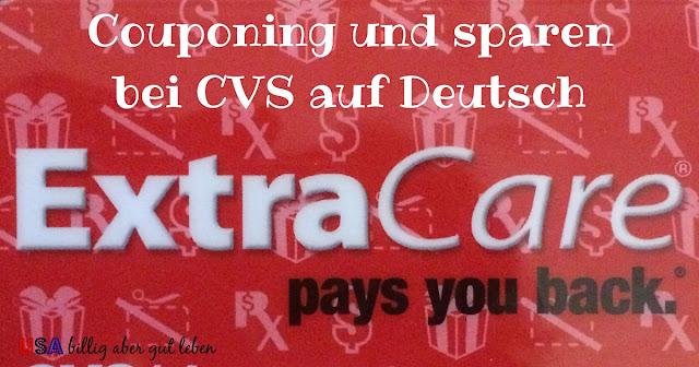 Wie coupont man bei CVS und bekommt Extrabucks
