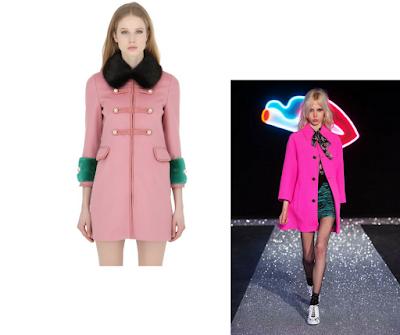 Abrigos cortos y ajustados. Factor común: rosas.