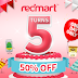 [ONE DAY ONLY] 5 Things to grab at 50% off with RedMart's 5th anniversary sale!