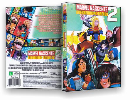 CAPA DVD – Marvel Nascente Guerreiros Secretos 2 – ISO