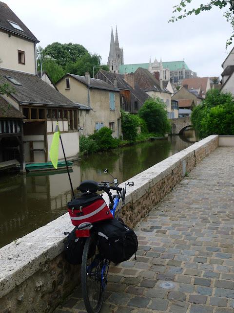 Tour de la Beauce en vélo couché  à Chartres