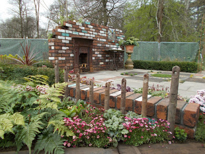 Reimagined Past show garden RHS Cardiff Show 2018 Green Fingered Blog