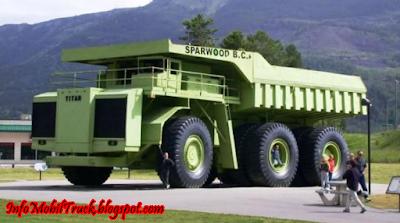Gambar truck besar di dunia