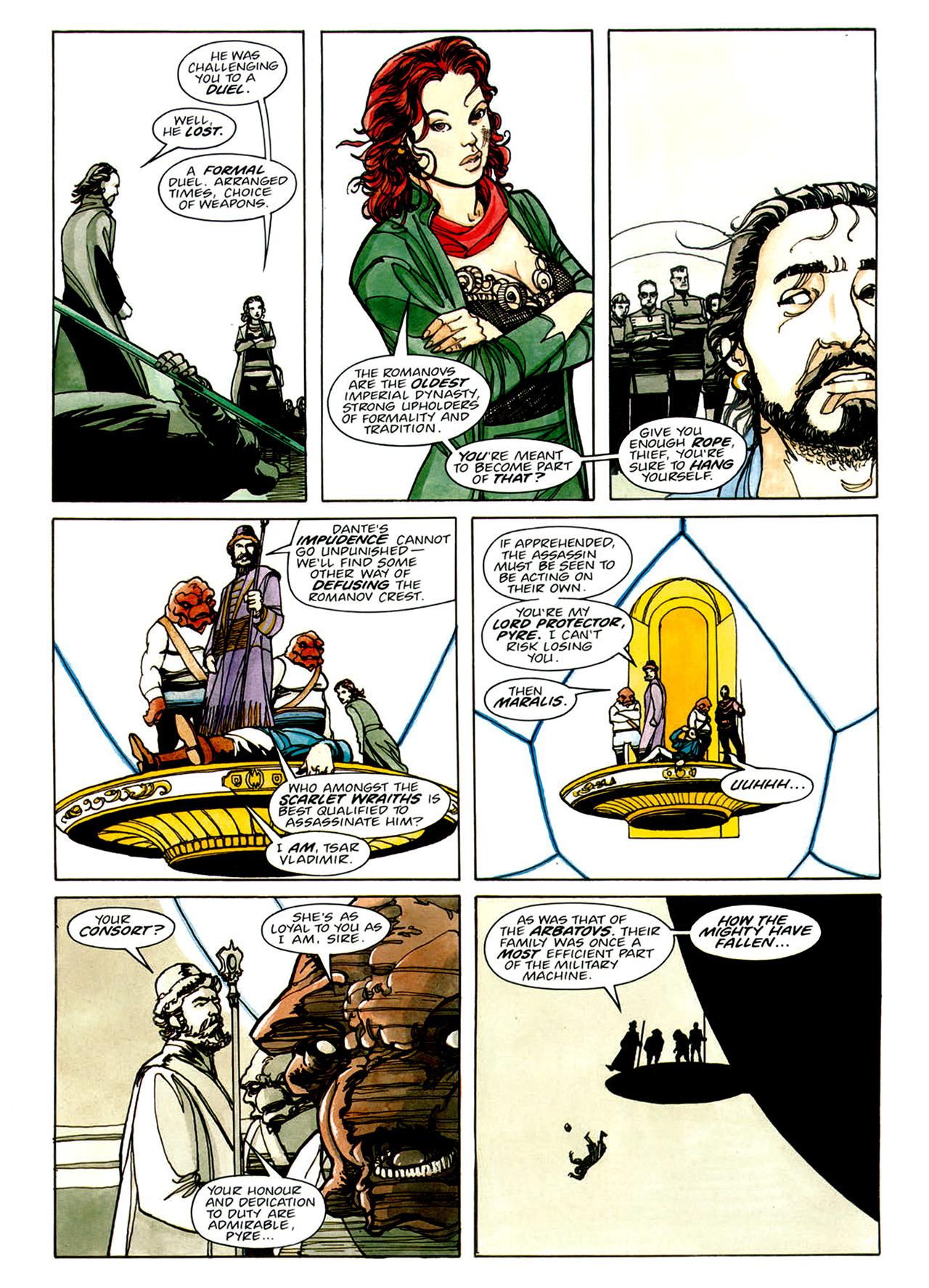 Read online Nikolai Dante comic -  Issue # TPB 1 - 55