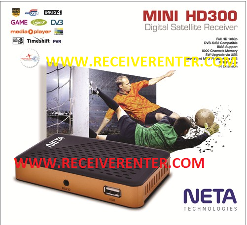 NETA MINI HD300 RECEIVER BISS KEY OPTION